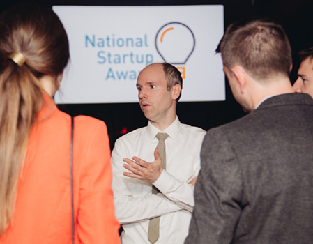 Frequency at the National Startup Awards